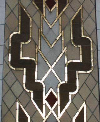 Corn mosaic in Speaker's Niche