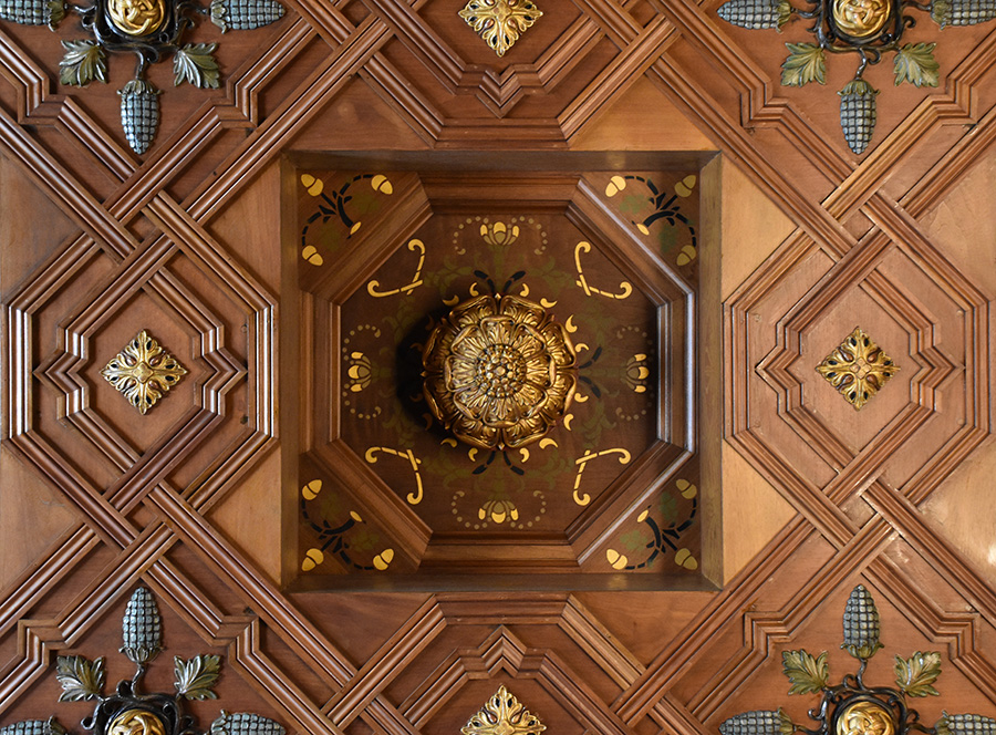 Supreme Court ceiling detail