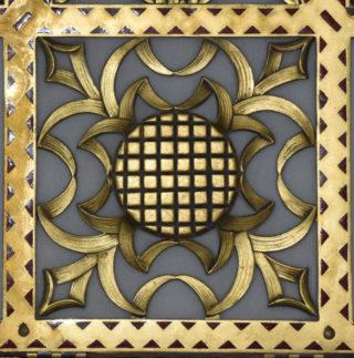 detail of corridor lamp